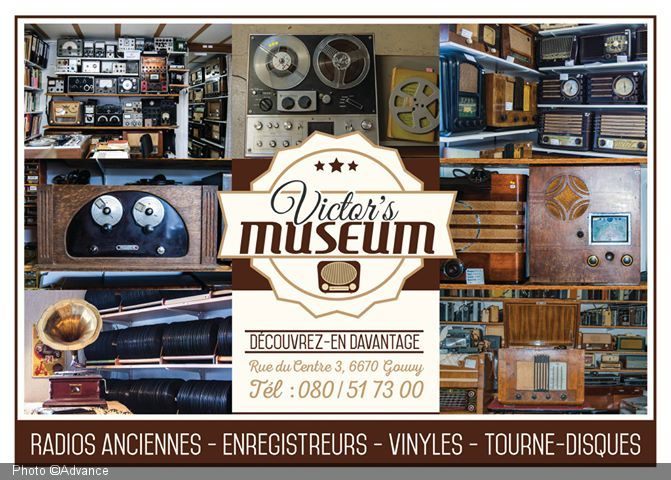 Victor's museum. Collection de radios anciennes