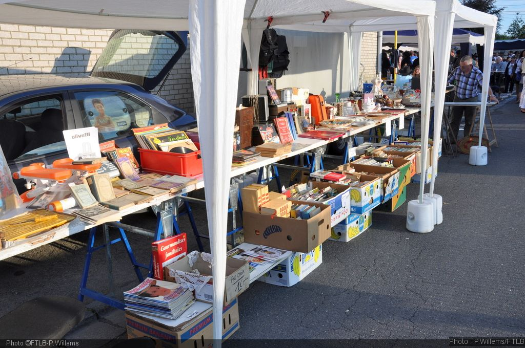 Brocante nationale à Amberloup