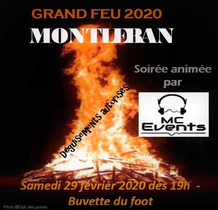 Grand feu à Montleban