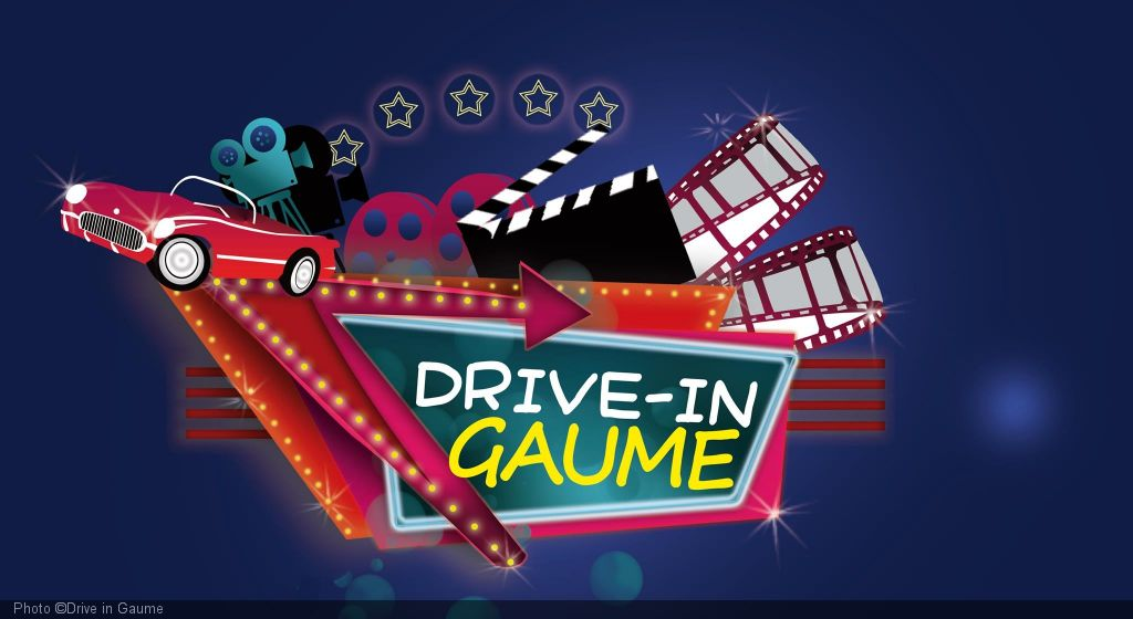 Open-air cinema: drive in