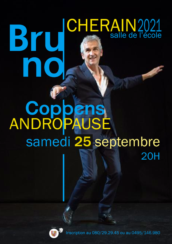 Spectacle humour Bruno Coppens